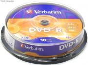 DVD-R Matt Silver 16x 4.7GB  - 10 Pack Spindle Optical Media