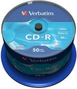 CD-R Extra Protection 52x 700MB - 50 Pack Spindle Optical Media