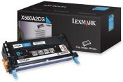 X560A2CG Cyan Laser Toner Cartridge