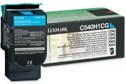 C540H1CG Cyan High Yield Laser Toner Cartridge