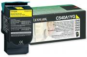 C540A1YG Yellow Laser Toner Cartridge