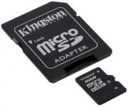 16GB microSDHC Class 4 Memory Card with SD Adapter