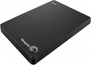 Backup Plus Slim Portable 1TB External Hard Drive - Black (STDR1000200)