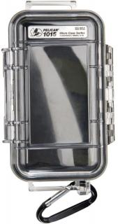 1015 Case with rubber liner - Black clear