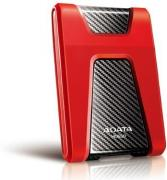 DashDrive Durable HD650 1TB Portable External Hard Drive - Red & Black