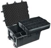 1630 Transport Case with Foam - Black
