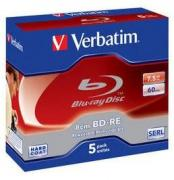 BD-RE 2x 7.5GB 8cm Mini - 5 Pack Jewel Case Optical Media