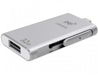 iConnect Series 32GB OTG Flash Drive - Silver