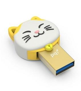 Connect 303 Lucky Cat 16GB OTG Flash Drive - Gold