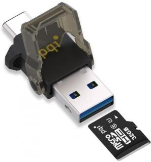 Connect312 USB 3.1 Type C & A OTG Reader