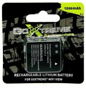 1200mAh Rechargeable Lithium Battery For GoXtreme WiFi View Cam