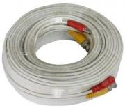 BNC Video and Power 20m Surveillance CCTV Cable
