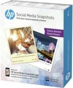 Postcard Social Media Snapshots Inkjet Photo Paper - 25 Sheets