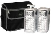 MS5131 Rechargeable Camping LED Lantern Kit - Silver
