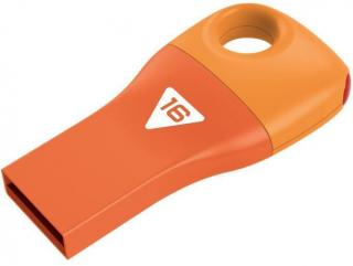 Car Key D300 16GB Flash Drive - Orange