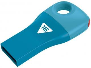 Car Key D300 16GB Flash Drive - Blue