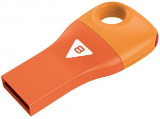 Car Key D300 8GB Flash Drive - Orange