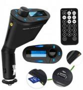 Car FM Transmitter with Remote Control