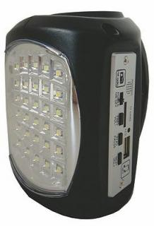 MS5065 'Lil Bud Black Rechargeable Emergency LED (MS5065)
