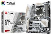 Arsenal Gaming Intel X299 Socket LGA2066 ATX Motherboard (X299 TOMAHAWK ARCTIC)