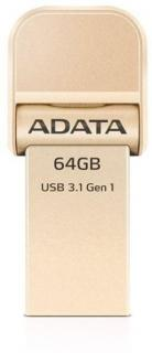 AI920 i-Memory 64GB OTG Apple Flash Drive - Gold