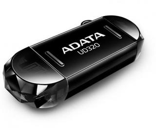 DashDrive Durable UD320 64GB OTG Flash Drive - Black