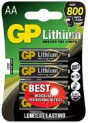 15LF AA Lithium Batteries - 4 Pack