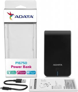 P16750 16750mAh Power bank - Black & Blue