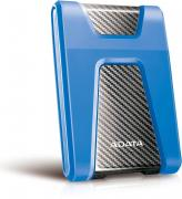DashDrive Durable HD650 2TB Portable External Hard Drive - Black & Blue
