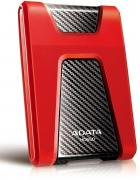 DashDrive Durable HD650 2TB Portable External Hard Drive - Black & Red