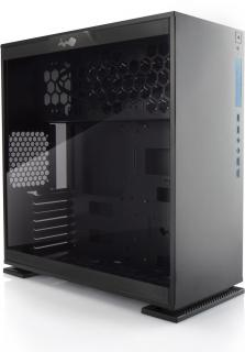 303 Tempered Glass Mid Tower Chassis - Black