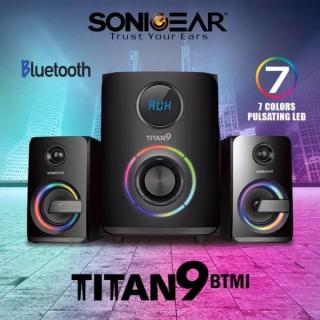 Titan 9 2.1 Bluetooth Multimedia Speaker with RGB Light