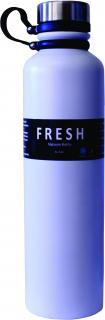 Fresh 1L Stainless Steel Vacuum Bottle -  White