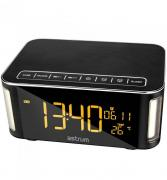 ST250 Clock, Wake Up, Temperature, Light, FM, MicroSD 10W RMS Bluetooth Speaker