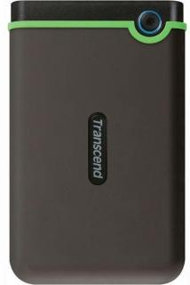 StoreJet 25M3 1TB Rugged Portable External Hard Drive - Military Green