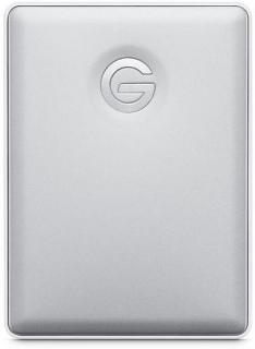 G-Drive Mobile 2TB Portable External Hard Drive - Silver
