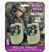 Hero Military HM230G 3km 2-Way PMR Radio 2-Pack
