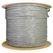 CAT6 500m Solid U/FTP LSOH Network Cable - Grey - Roll