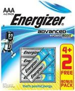 X92RP6 1.5v Advanced Alkaline AAA Battery Card 4+2 Free
