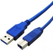 UB318 USB 3.0 Type A Male to Type B Male 1.8m Printer Cable