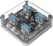 MH4U-U3 4-Port USB3.0 Transparent Hub