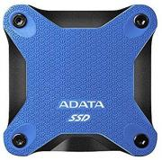 ASD600Q 240GB Portable External Solid State Drive - Black & Blue