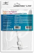 Type-C to Type-A USB 3.1 Gen 1 Converter Cable (CBL-4CA)