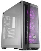 MasterBox MB511 RGB Windowed Mid Tower Gaming Chassis - Black