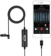 BY-DM1 Lightning Omni-directional Lavalier Microphone for iOS Devices