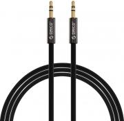 3.5mm Male to Male AUX Cable - 1m - Black