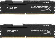 HyperX Fury Black 2 x 8GB 2666MHz DDR4 Desktop Memory Kit (HX426C16FB2K2/16)