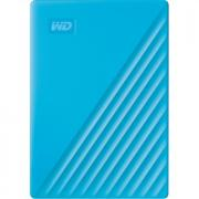 My Passport 4TB USB 3.2 Gen 1 Portable External Hard Drive - Blue