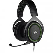 HS50 Pro Stereo Gaming Headset - Black/Green