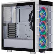 iCUE 465X RGB ATX Smart Mid Tower Chassis - White